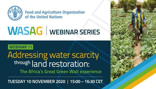 The Global Framework on Water Scarcity in Agriculture (WASAG)
