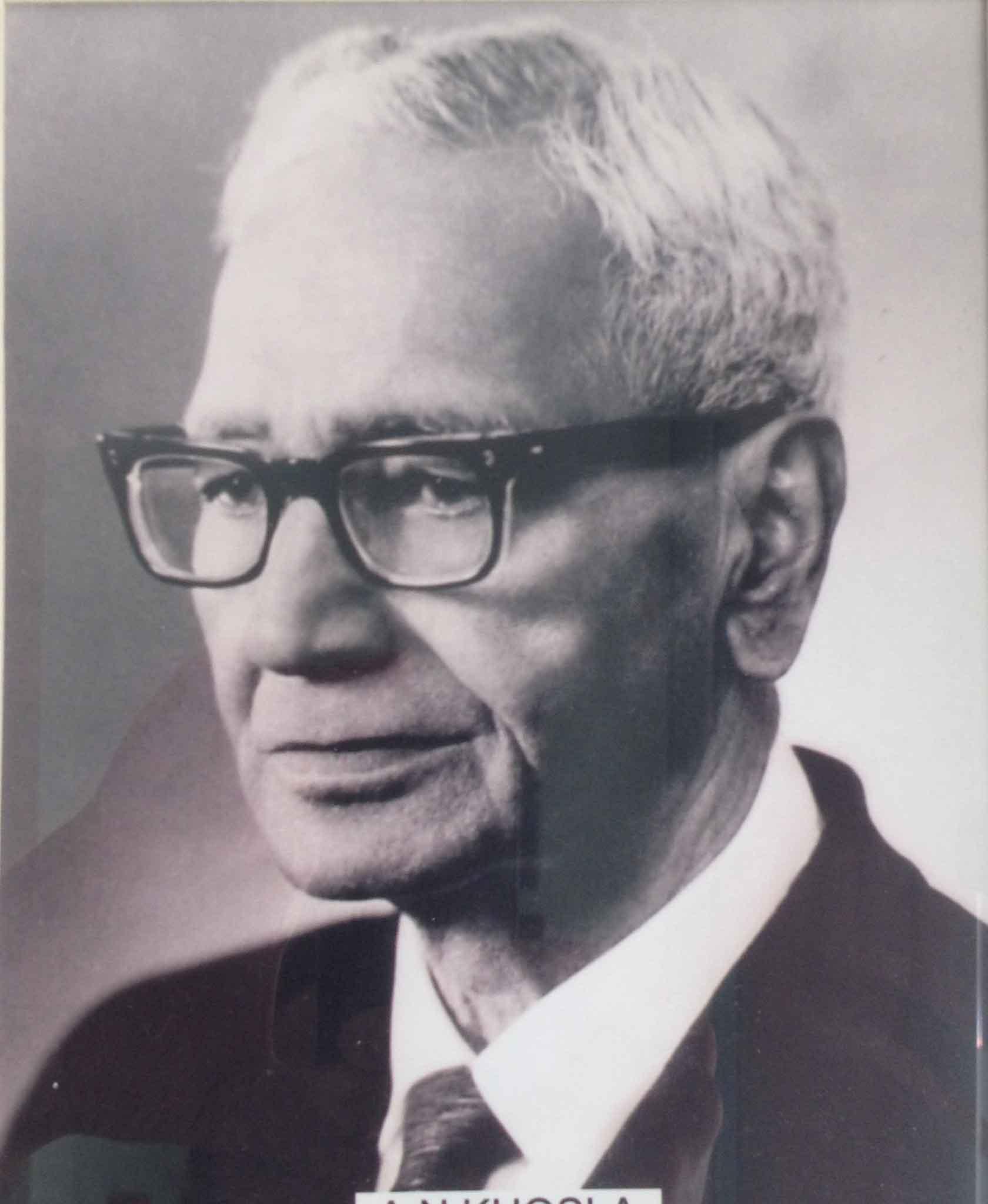 A.N. Khosla *